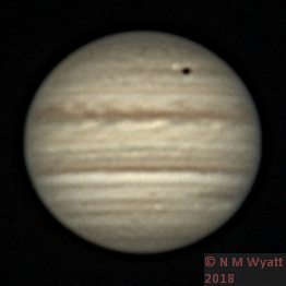 Jupiter and transit of Io