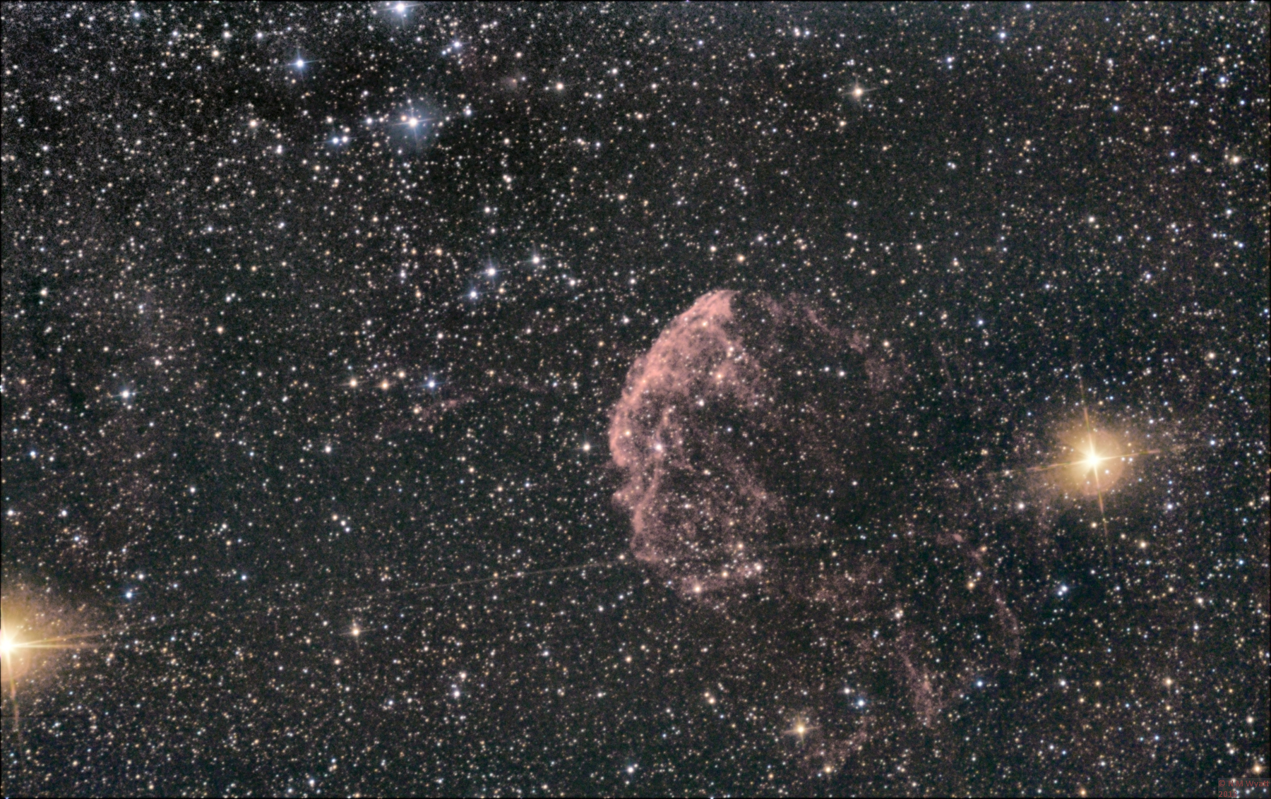 The Jellyfish Nebula in Gemini