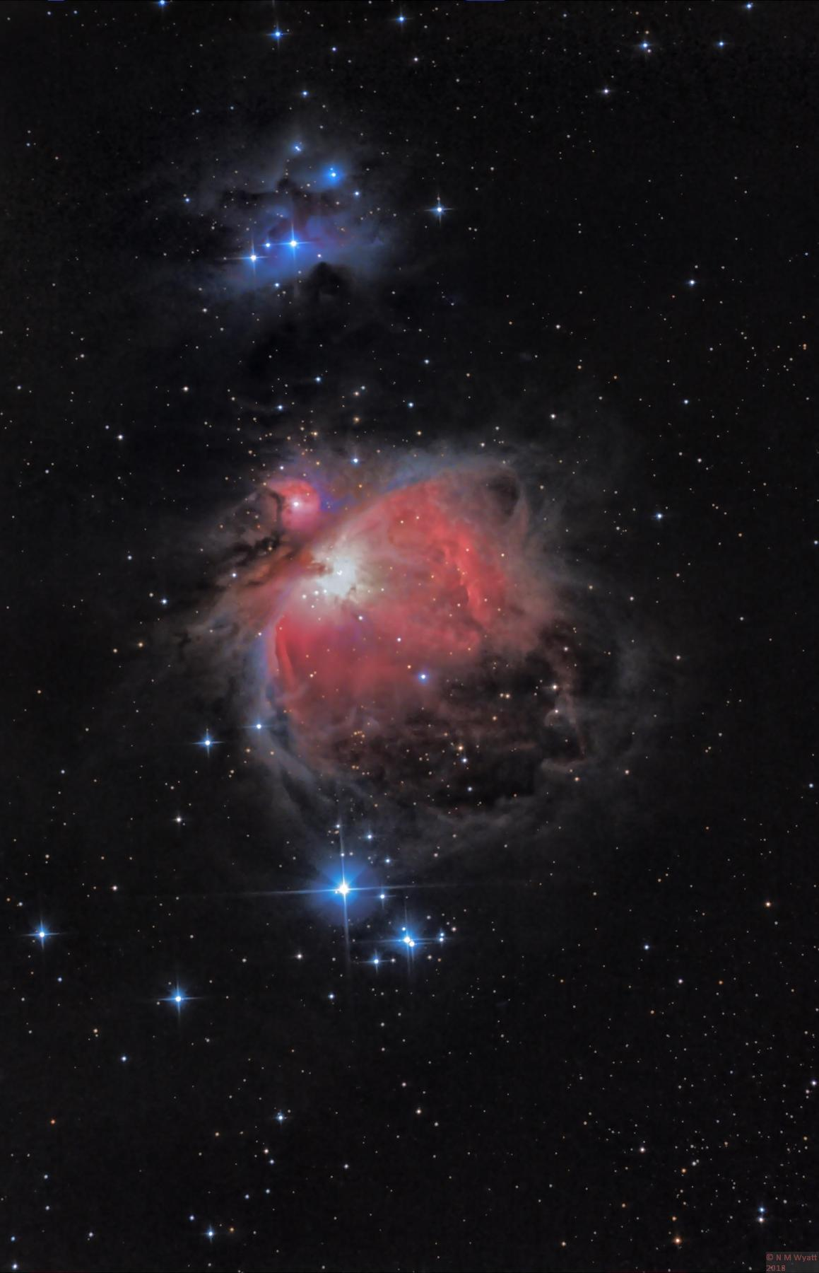 M42 with trapezium