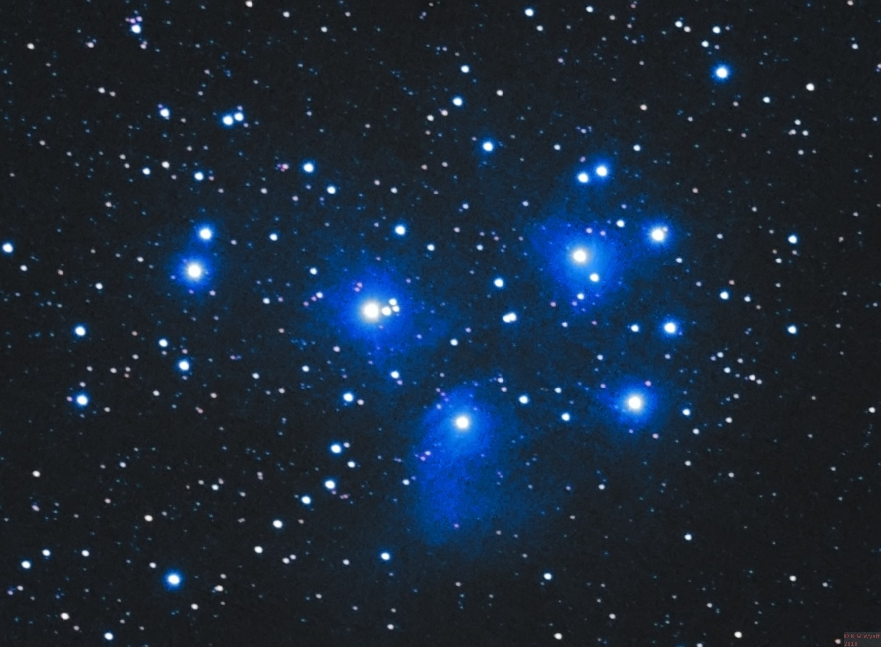 pleiades star cluster hubble - photo #18