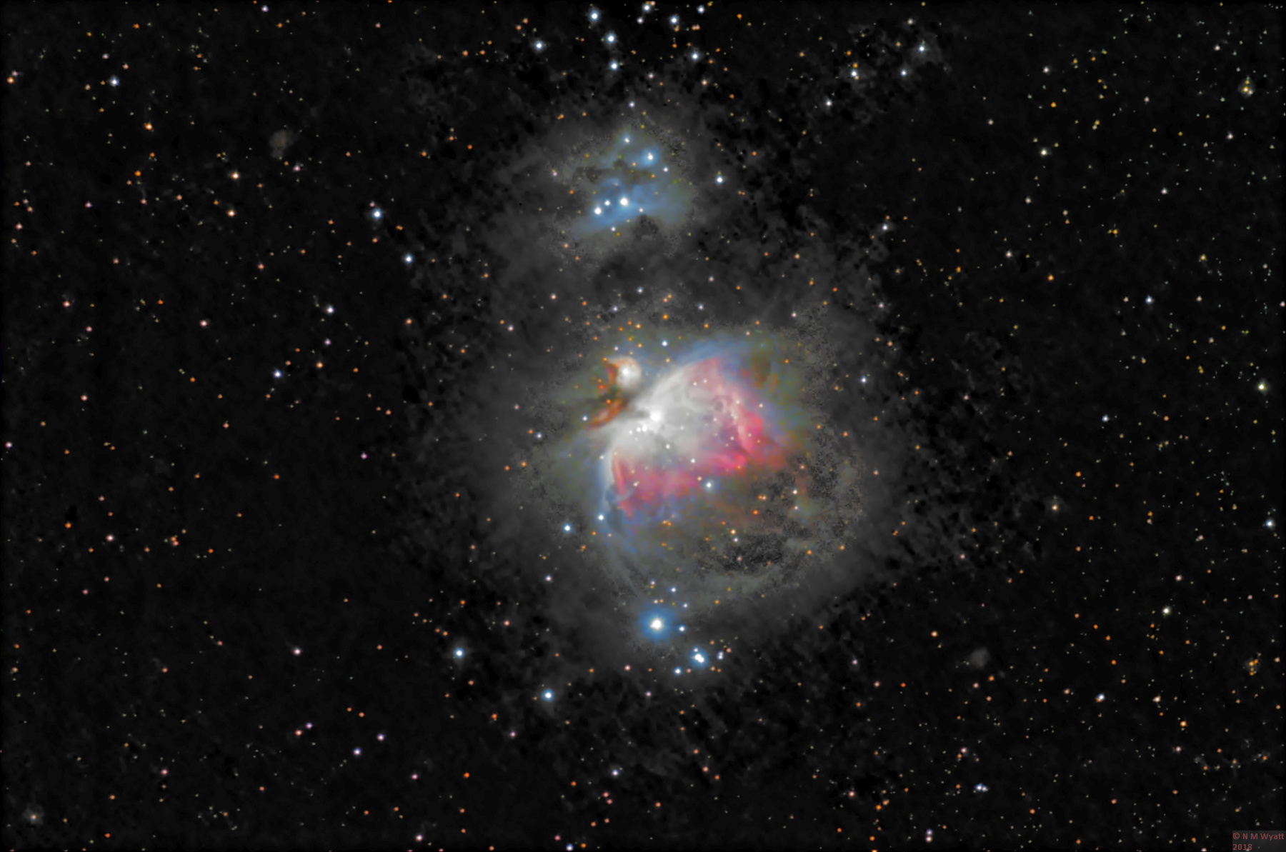 orion nebula reprocessed