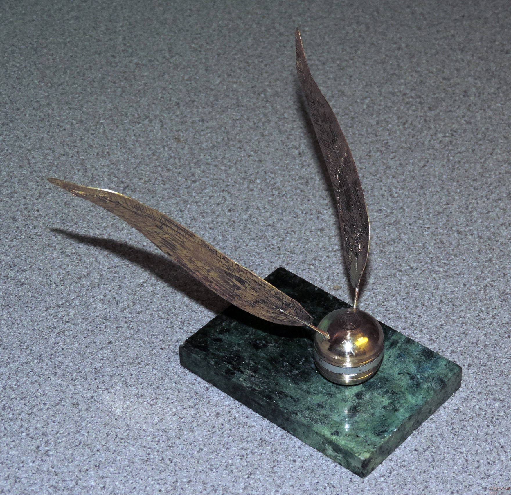 Full size golden snitch model