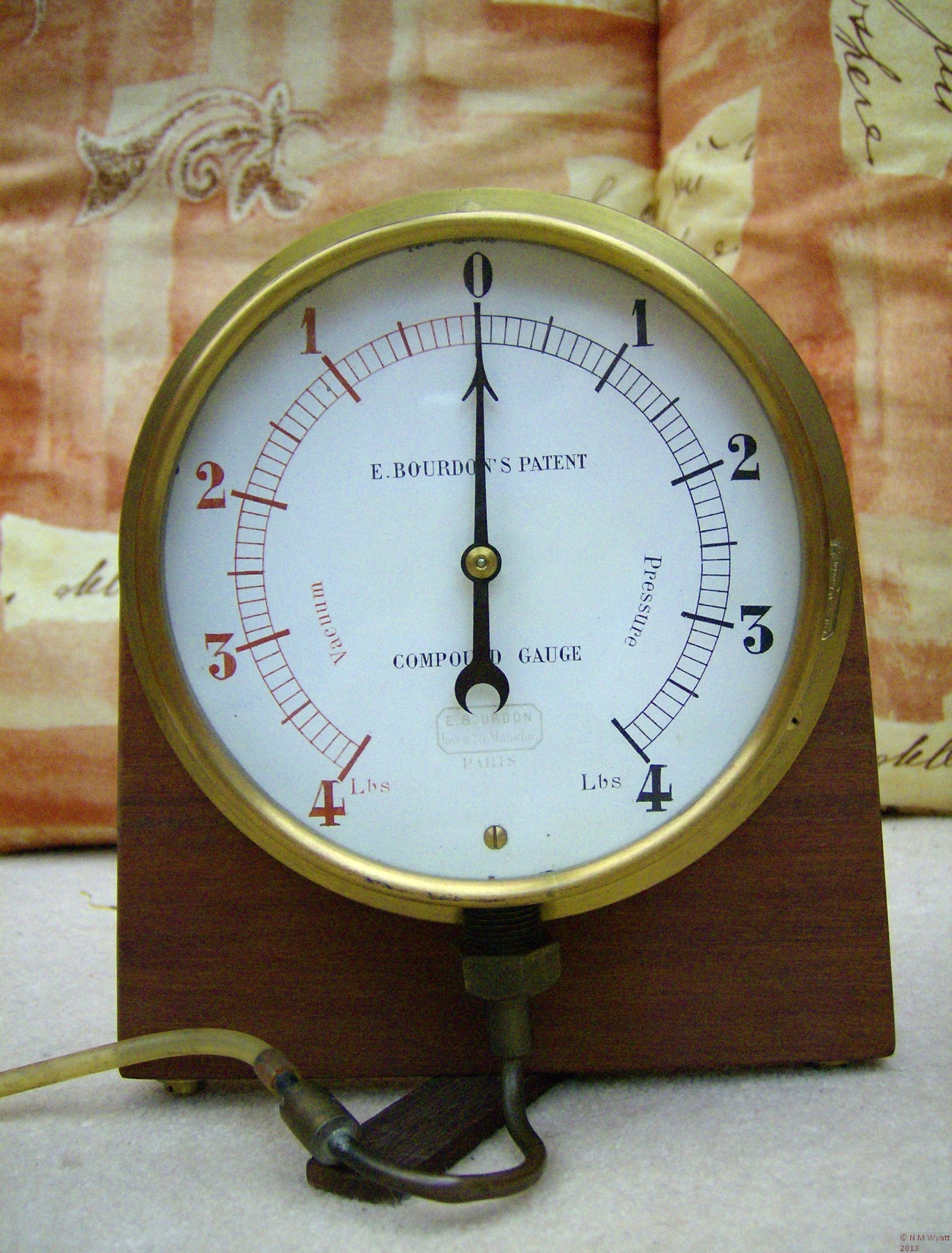 Eugene Bourdon's Patent Compound Gauge